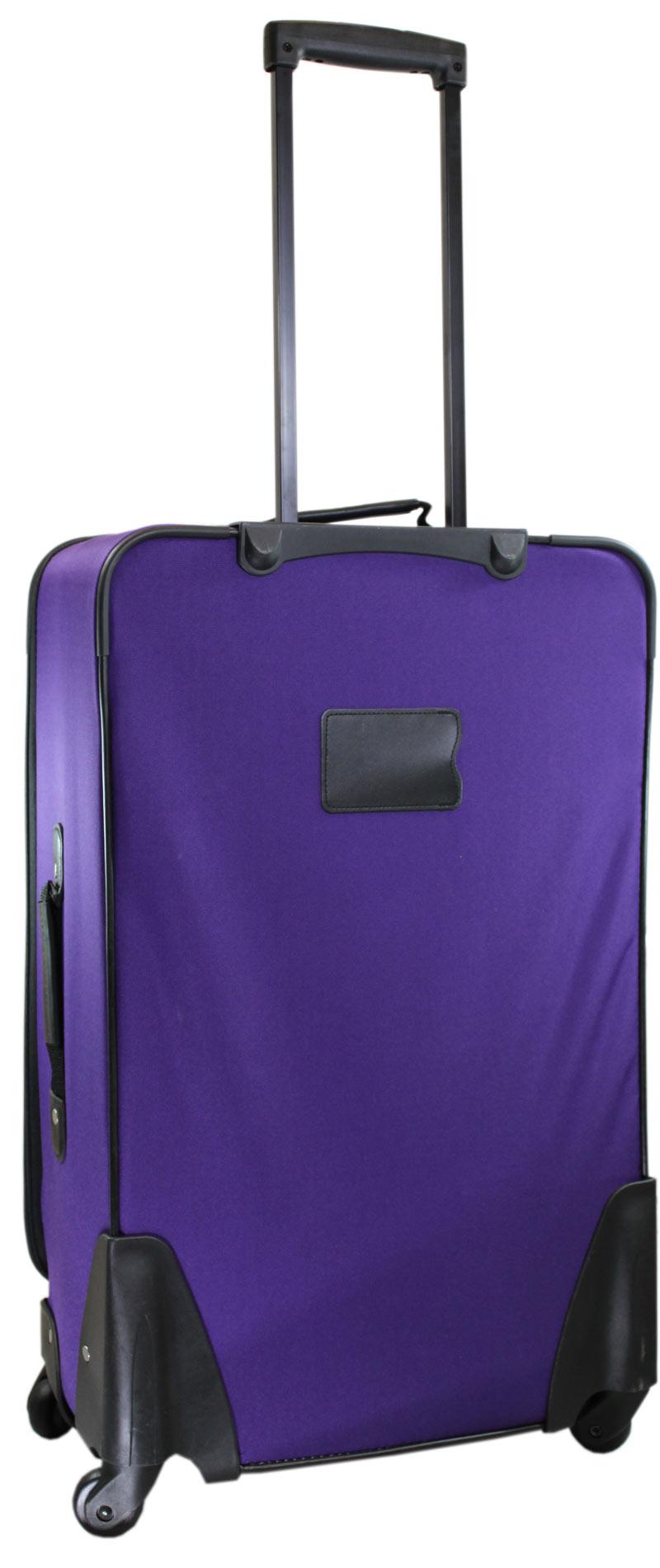 trolley handgep ck gep ck reise koffer lila 30 l 360 ebay. Black Bedroom Furniture Sets. Home Design Ideas