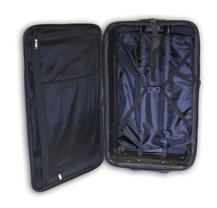trolley reisekoffer reise koffer rot nylon 75 liter tag neu ebay. Black Bedroom Furniture Sets. Home Design Ideas