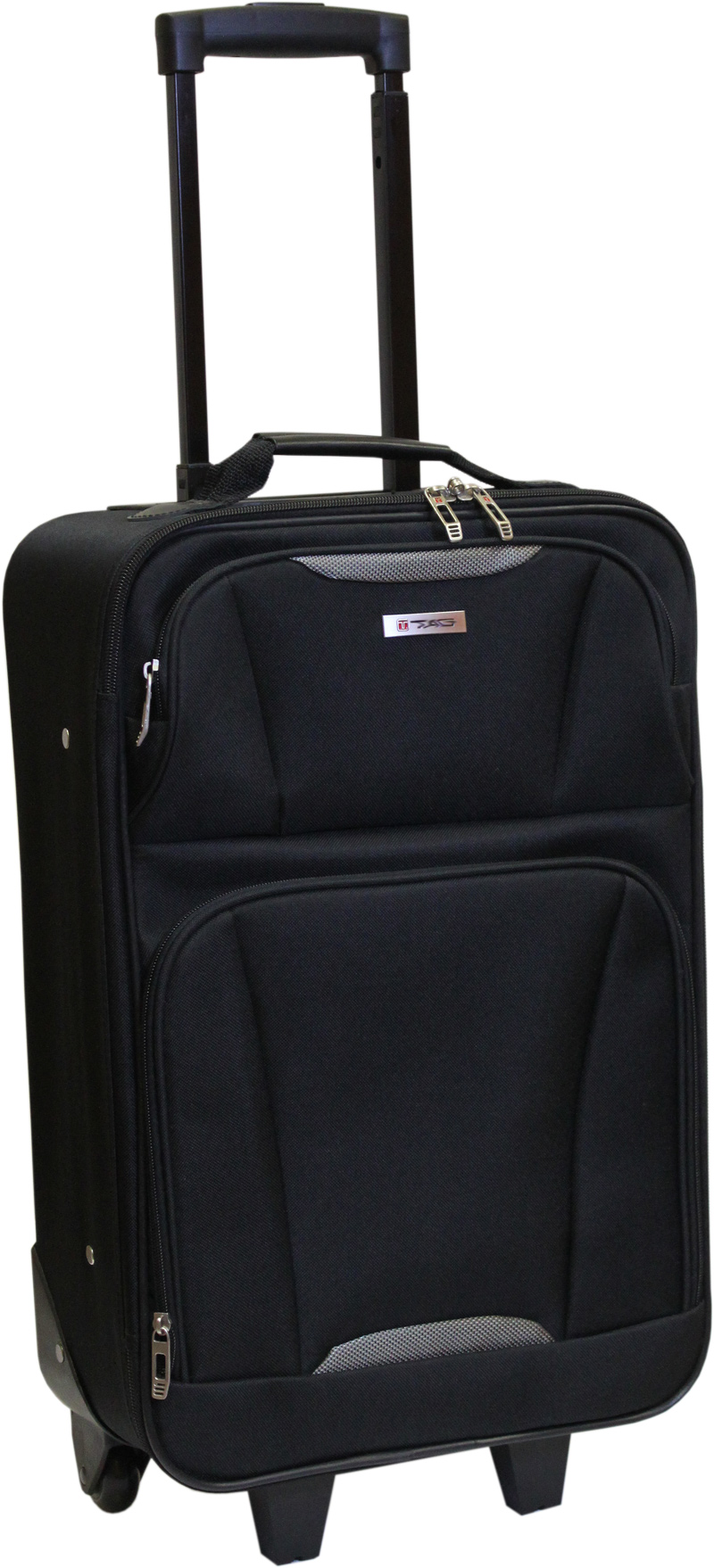 trolley handgep ck reise koffer schwarz nylon 30l tag ebay. Black Bedroom Furniture Sets. Home Design Ideas