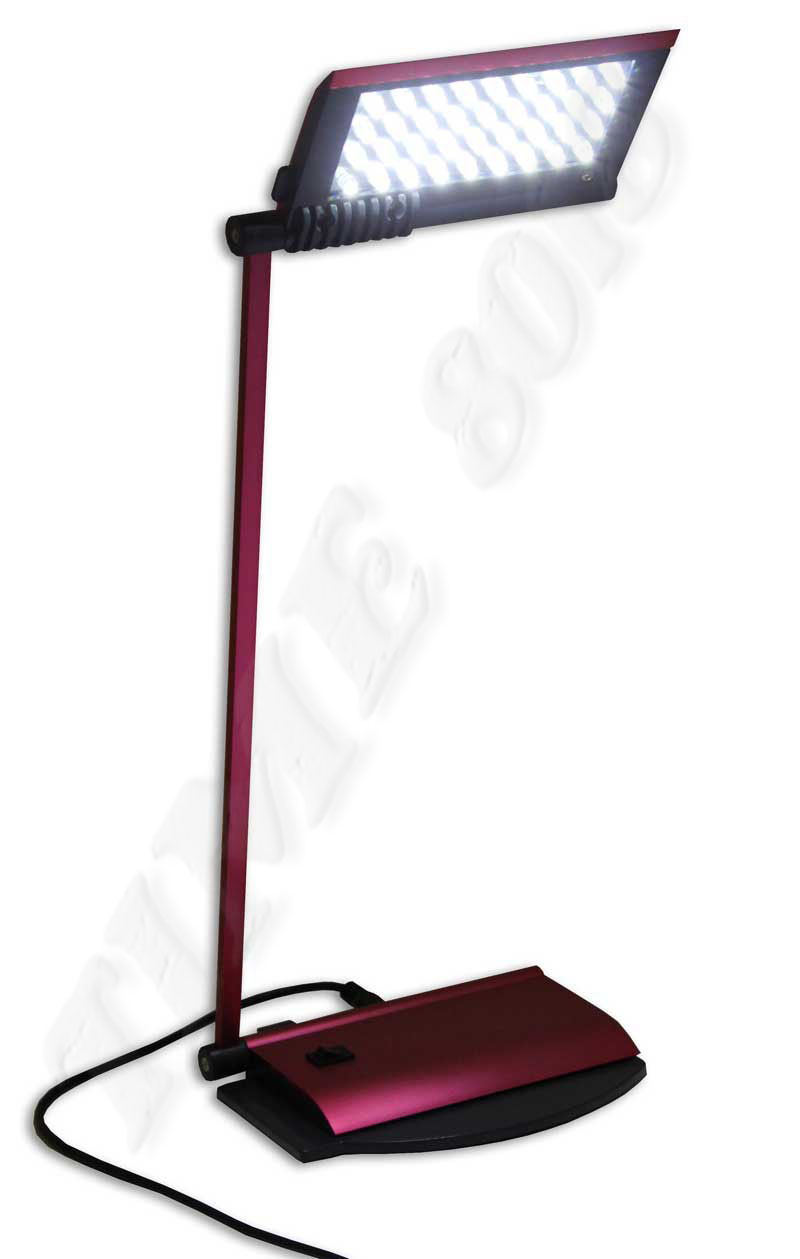 led schreibtisch tastatur lampe 36 led usb rot metallic ebay. Black Bedroom Furniture Sets. Home Design Ideas