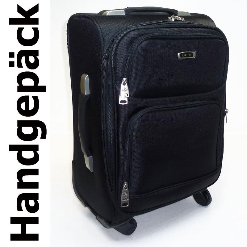 handgep ck reise koffer boarding trolley 45 liter 4 rollen. Black Bedroom Furniture Sets. Home Design Ideas