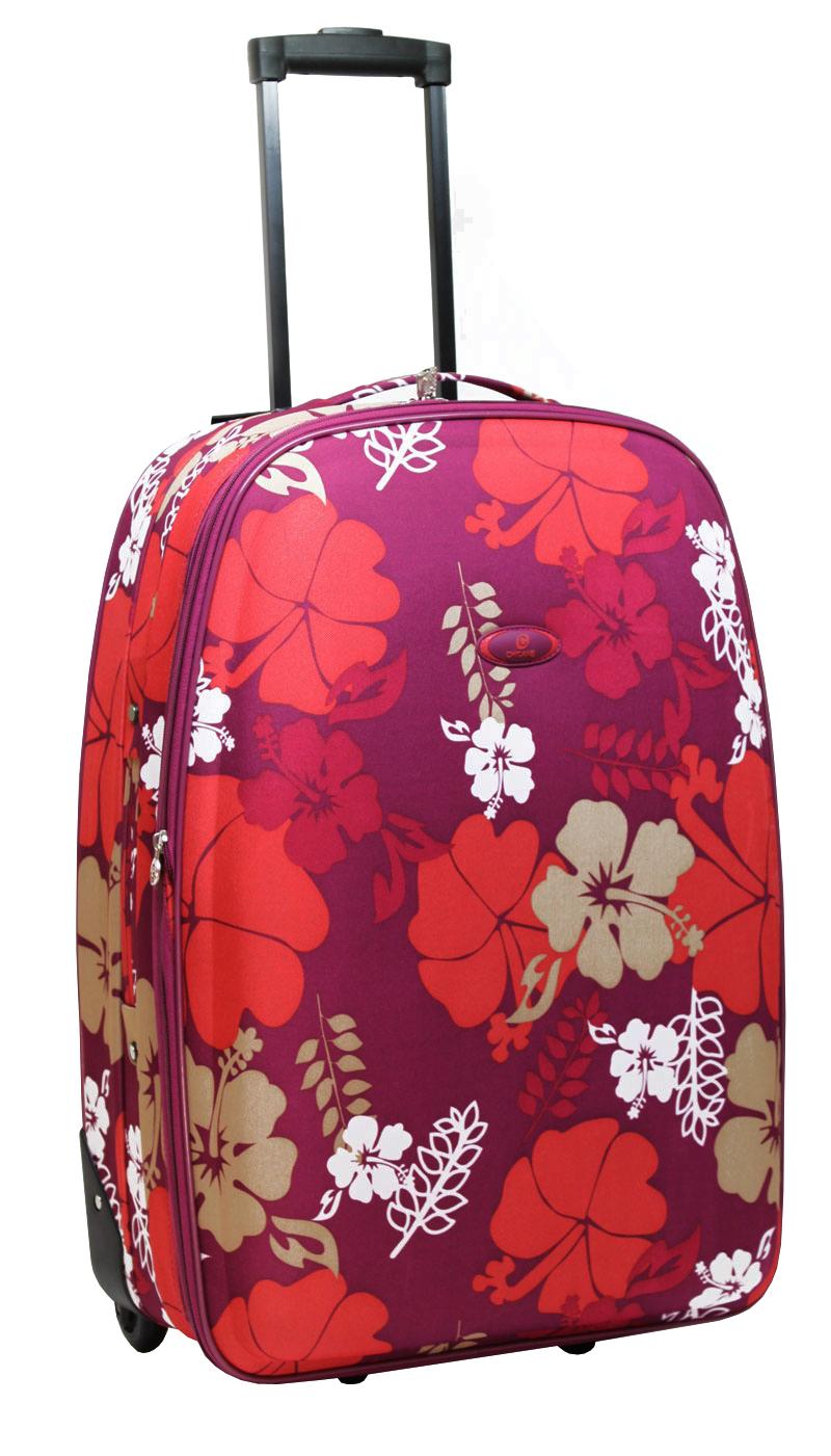 trolley retro blumenmuster handgep ck koffer nylon. Black Bedroom Furniture Sets. Home Design Ideas