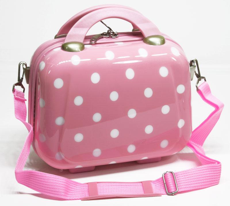 hartschale beauty case pink rosa koffer 10 liter schmink kosmetikkoffer nq8002 ebay. Black Bedroom Furniture Sets. Home Design Ideas