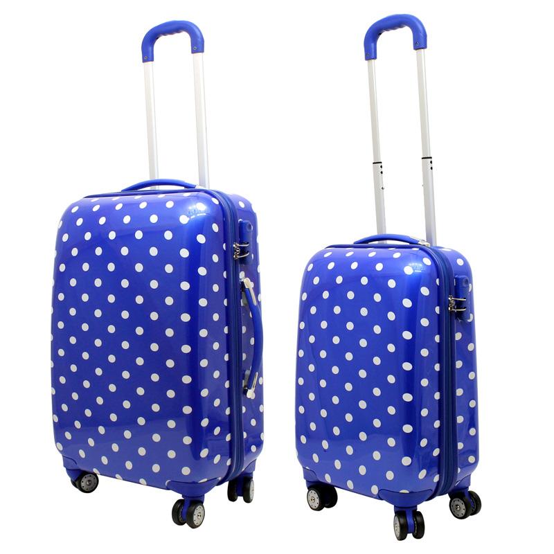 blaue koffer