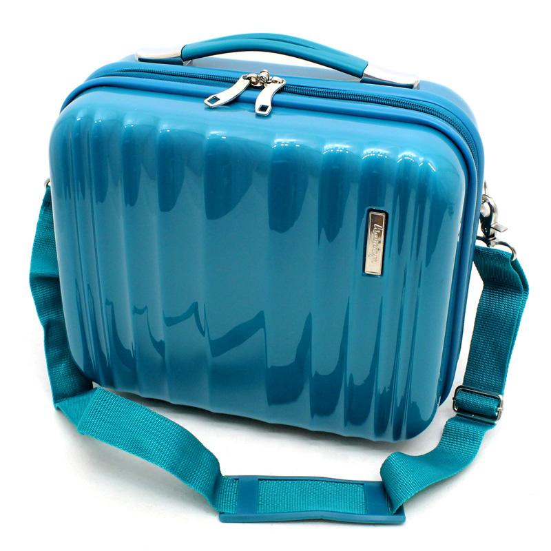 hartschalen beauty case kosmetik schmink koffer kosmetikkoffer 12 l t rkis 810 ebay. Black Bedroom Furniture Sets. Home Design Ideas