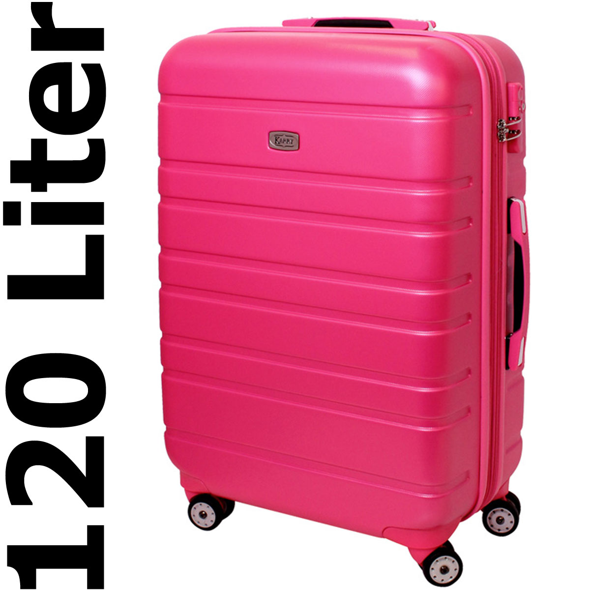 xxl hartschalen koffer tsa zahlenschloss reise trolley 120 liter pink rosa 815 ebay. Black Bedroom Furniture Sets. Home Design Ideas
