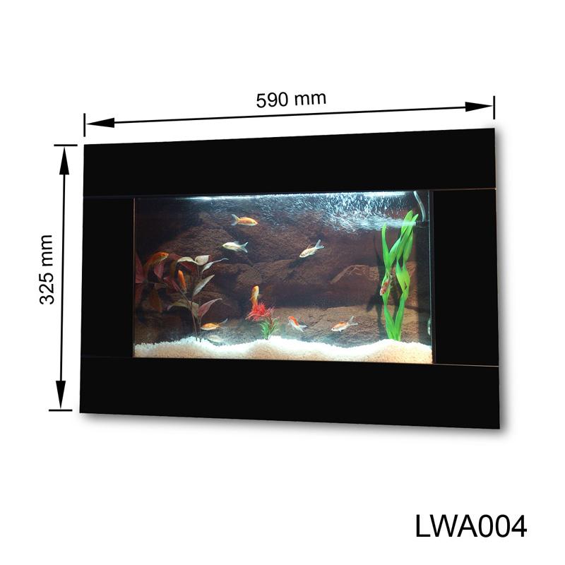 wandaquarium aquarium nano becken wand aquarium komplett. Black Bedroom Furniture Sets. Home Design Ideas