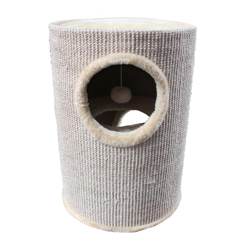 kratzbaum kratztonne kuschelh hlen katzentonne katzen h hle tonne lkb01 ebay. Black Bedroom Furniture Sets. Home Design Ideas