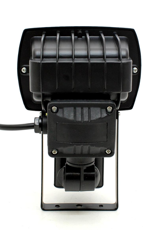 140 led au enlampe au enleuchte strahler mit bewegungsmelder schwarz khd01 ebay. Black Bedroom Furniture Sets. Home Design Ideas