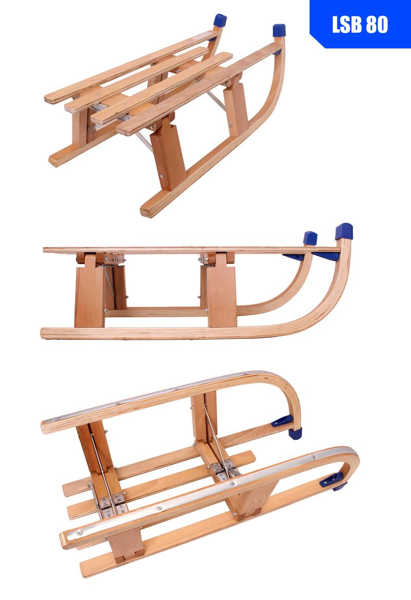 Luge En Bois Pliable : Luge Pliage de tra?neau Luge en Bois Pliable bois 80 cm eBay