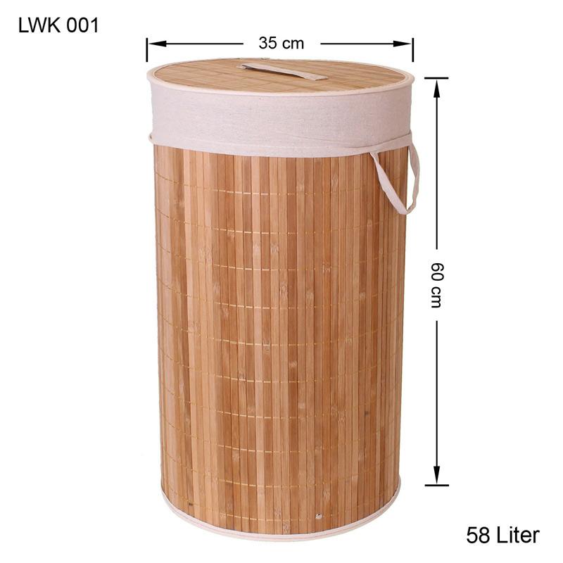 bambus w schekorb w sche box w schetruhe w schesammler leinen kleidersack ebay. Black Bedroom Furniture Sets. Home Design Ideas