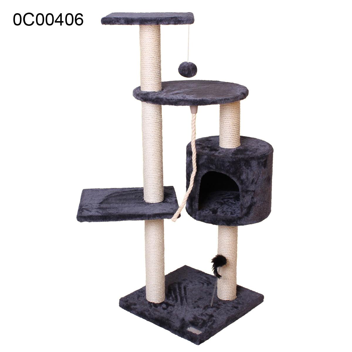 kratzbaum kletterbaum katzen sisal katzenbaum kletterbaum ebay. Black Bedroom Furniture Sets. Home Design Ideas