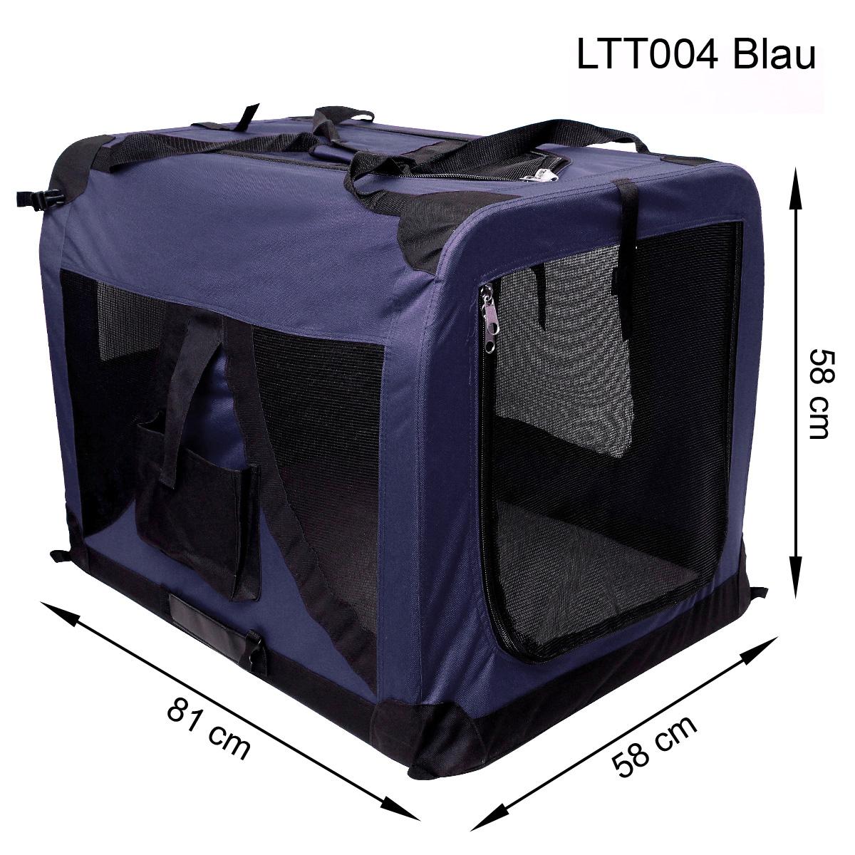 faltbare transportbox schlafplatz f r hund und katzen auto transport box ebay. Black Bedroom Furniture Sets. Home Design Ideas