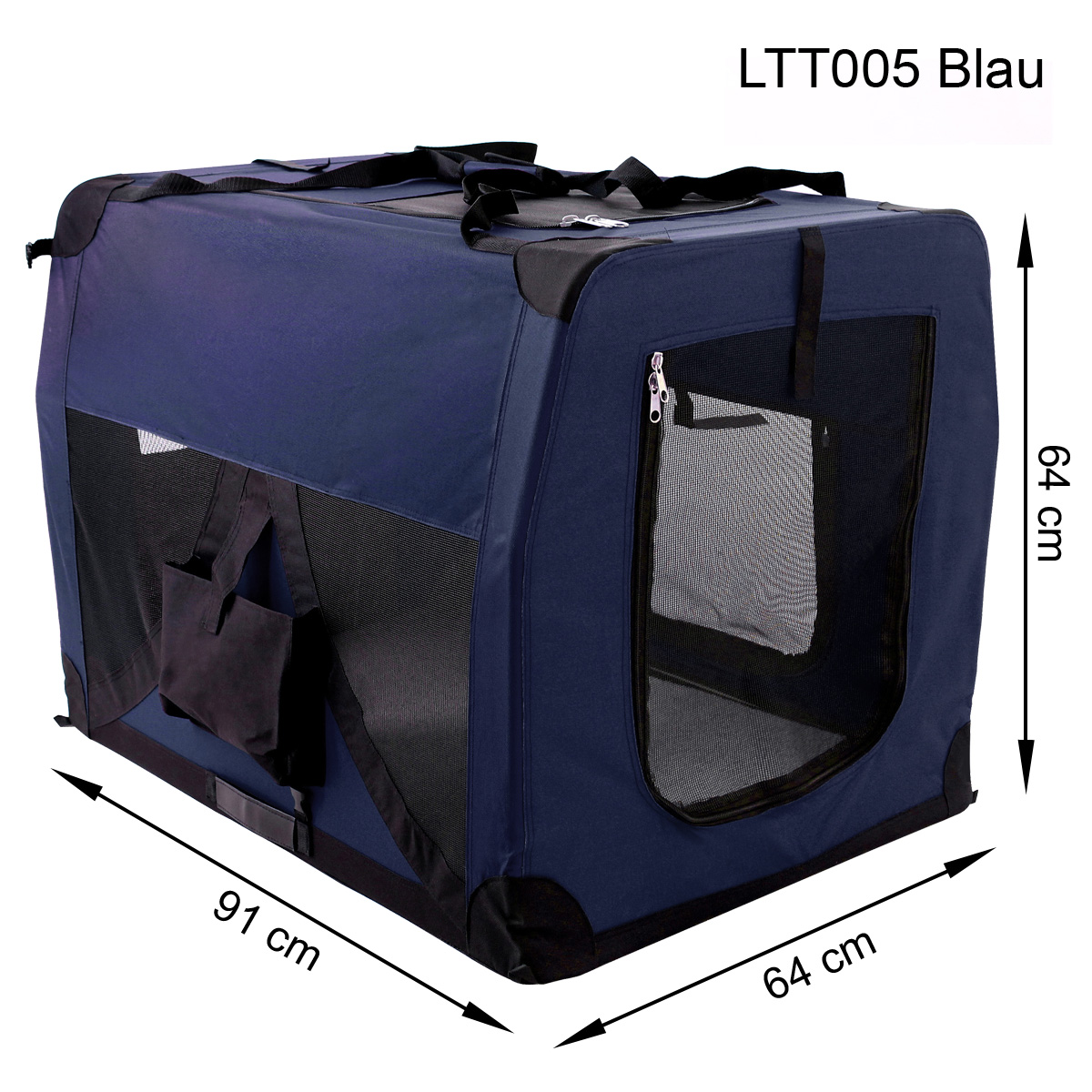 faltbare transportbox schlafplatz f r hund und katzen auto transport box ebay. Black Bedroom Furniture Sets. Home Design Ideas