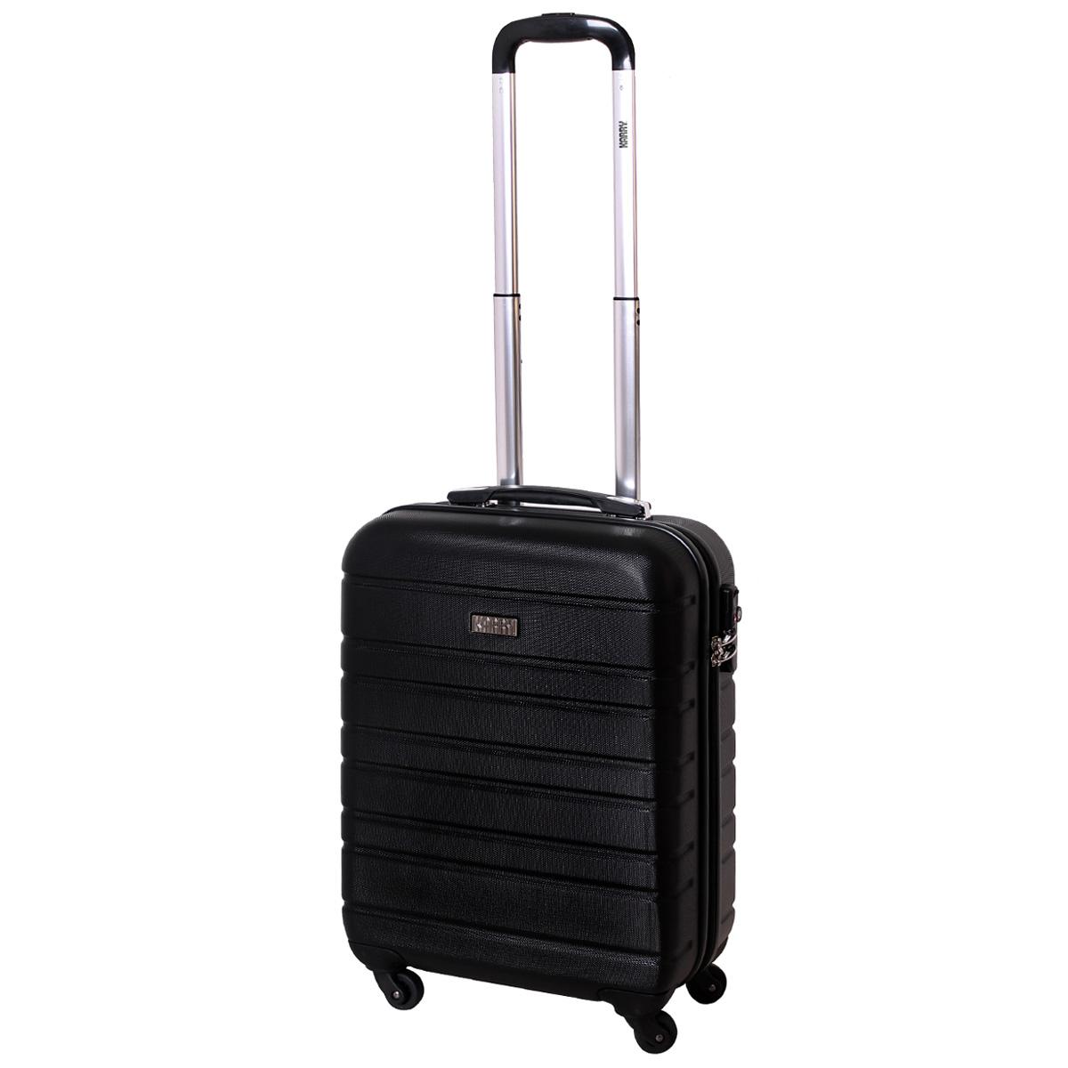 handgep ck hartschalen koffer tsa schloss trolley 30 liter schwarz 815 b ebay. Black Bedroom Furniture Sets. Home Design Ideas