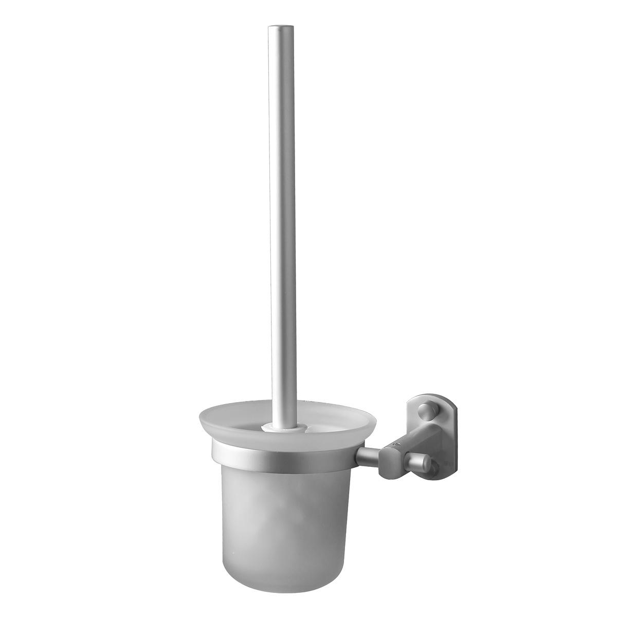 aluminium glas wc b rste toiletten b rste badezimmer klob rste bad ebay. Black Bedroom Furniture Sets. Home Design Ideas