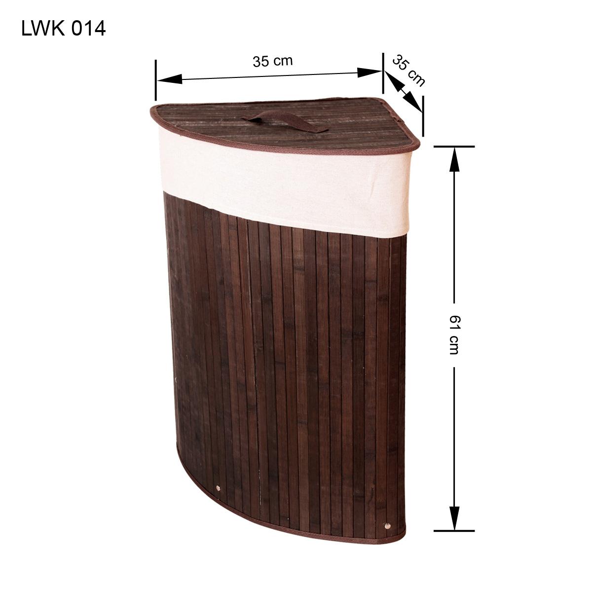 bambus w schekorb w sche w schetruhe w schesammler leinen kleidersack lwk014 ebay. Black Bedroom Furniture Sets. Home Design Ideas