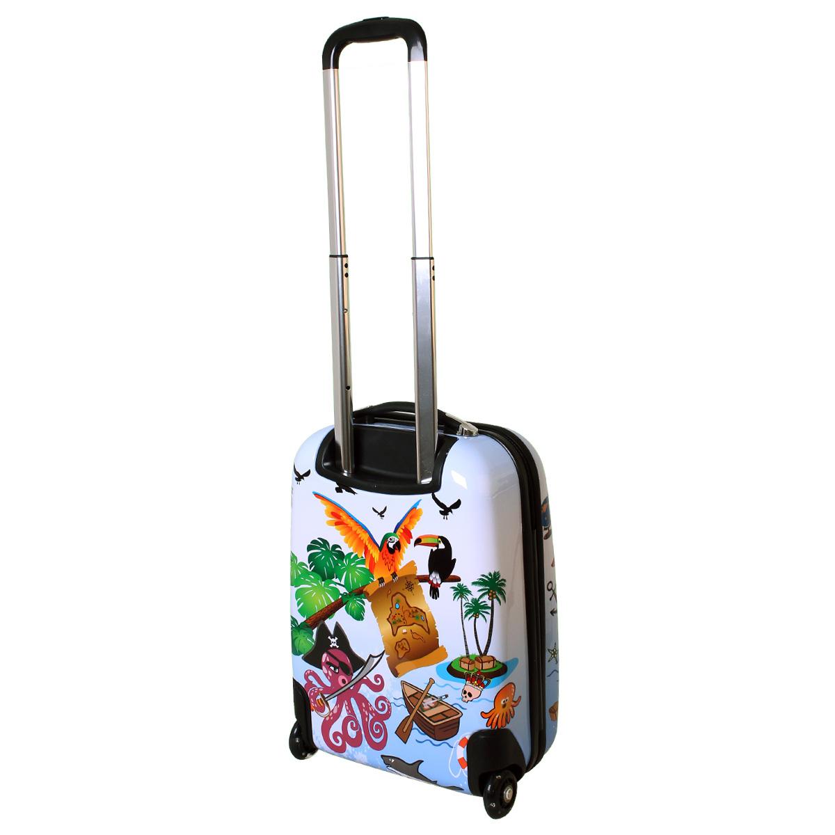 kinder karry hartschalen handgep ck koffer led skater. Black Bedroom Furniture Sets. Home Design Ideas