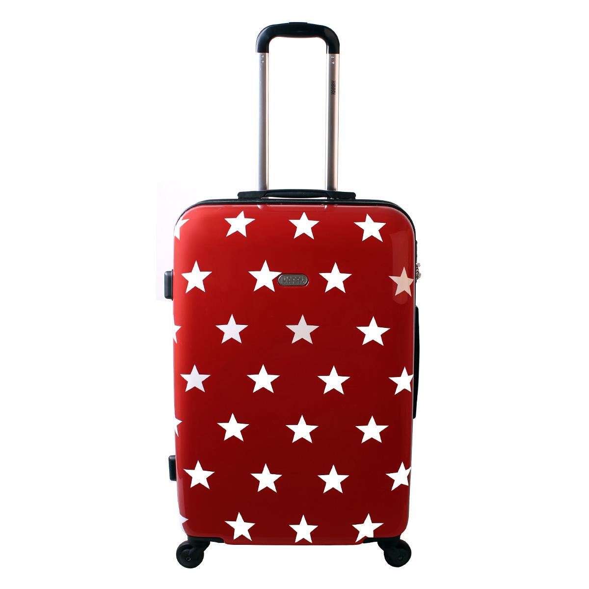 karry xl hartschalen reise koffer trolley tsa 80 liter rot. Black Bedroom Furniture Sets. Home Design Ideas
