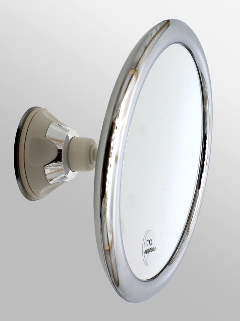 kosmetik spiegel rasier schminkspiegel extra starker saugnapf 7 x zoom 2667 ebay. Black Bedroom Furniture Sets. Home Design Ideas